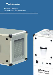 Air Purification and Disinfection Filter Units