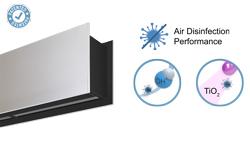 Vzduchová clona Zen s technologií Wellisair a Kleenfan