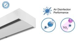 Vzduchová clona Dam s technologií Wellisair a Kleenfan