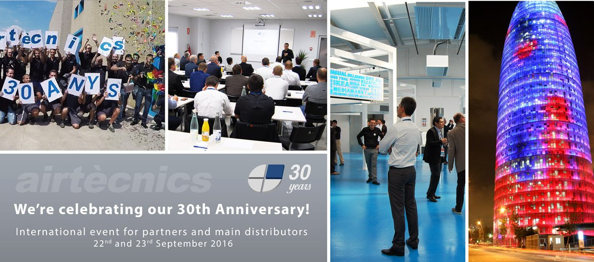 30 years Airtecnics celebration