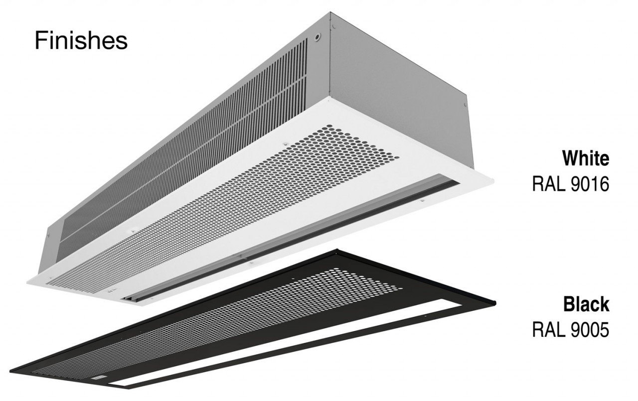Optima Recessed Wireless Finishes
