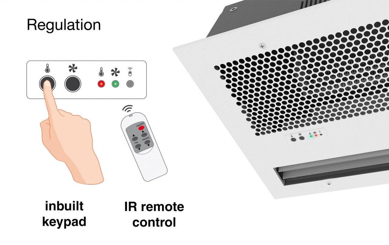 Optima Recessed Wireless Regulation