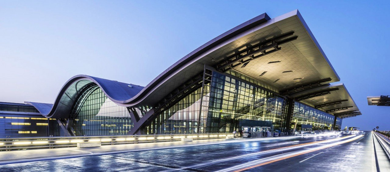 Qatar airport building
