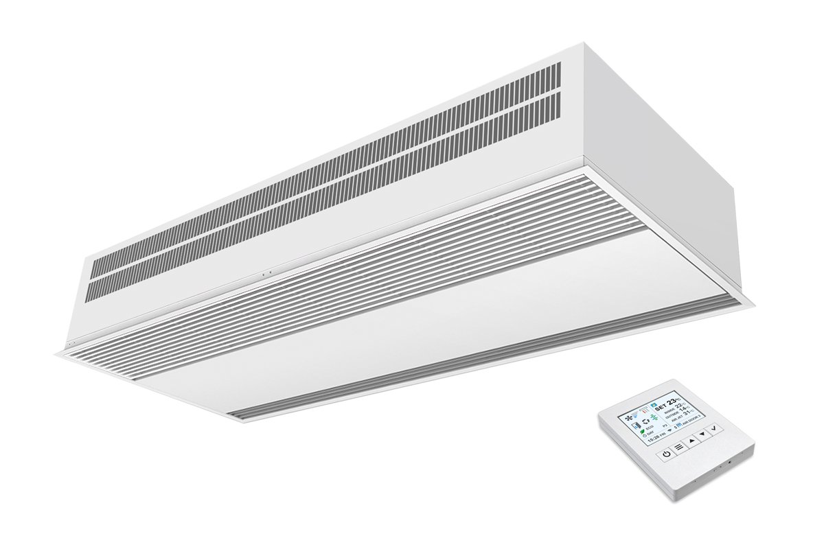 Recessed air curtain Windbox BB