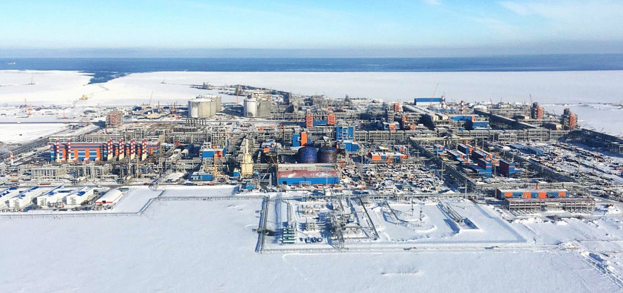 Yamal LNG Rússia cortines d'aire