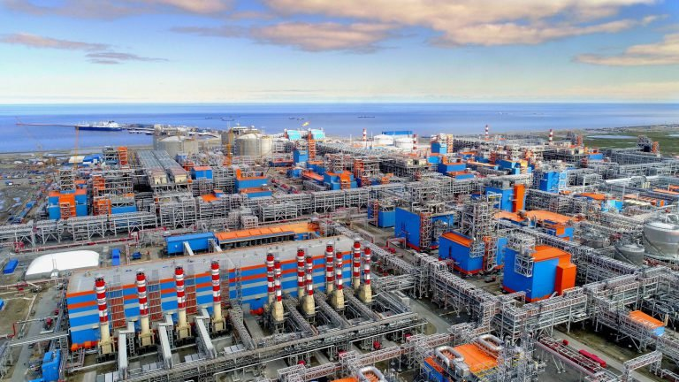Yamal LNG Rússia cortines d'aire industrials