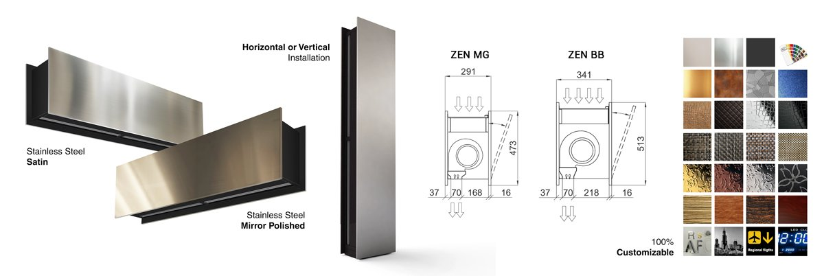 ZEN BB air curtain