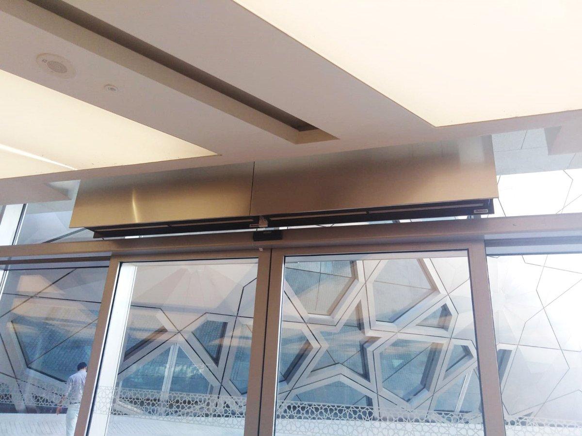 Design ZEN air curtains in the sumptuous Sheikh Jaber Al