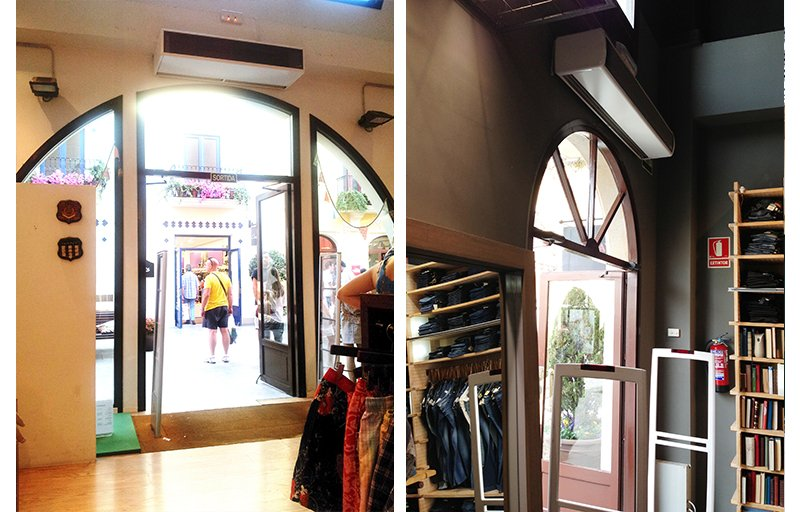 air-curtains-roca-village-barcelona-shop-gant