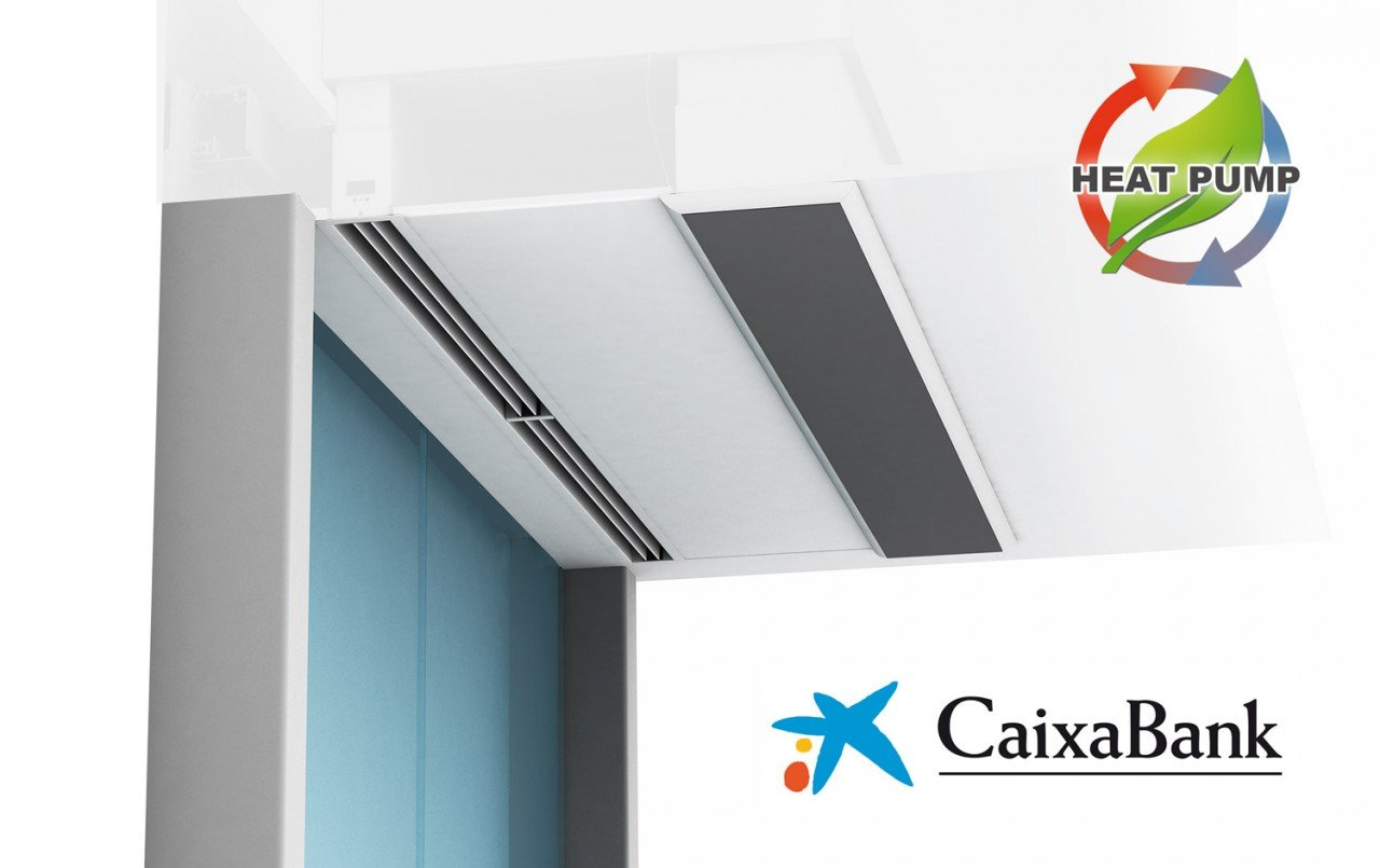 Windbox DX Air curtain CaixaBank