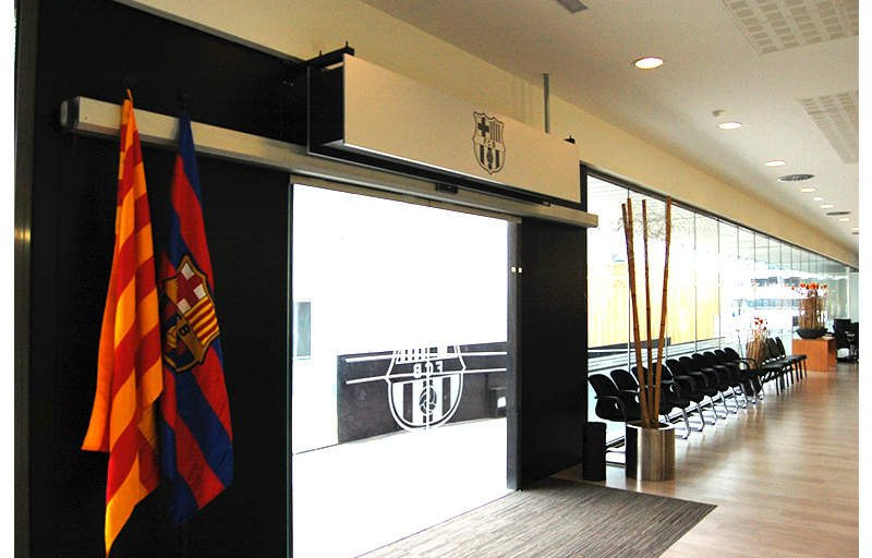 Significant installations of air curtains Airtècnics during 2014 in Spain