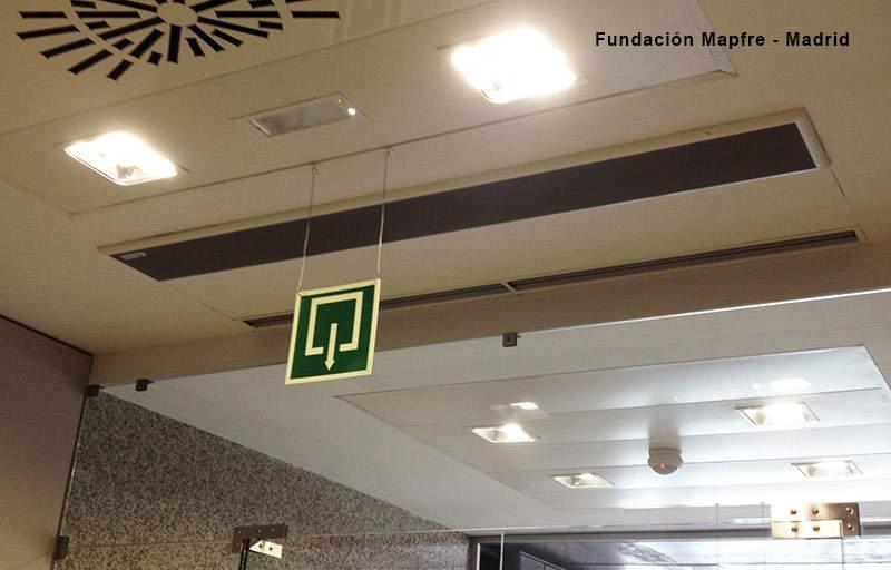 Instalaciones relevantes de cortinas de aire airt cnics for Oficinas nike madrid