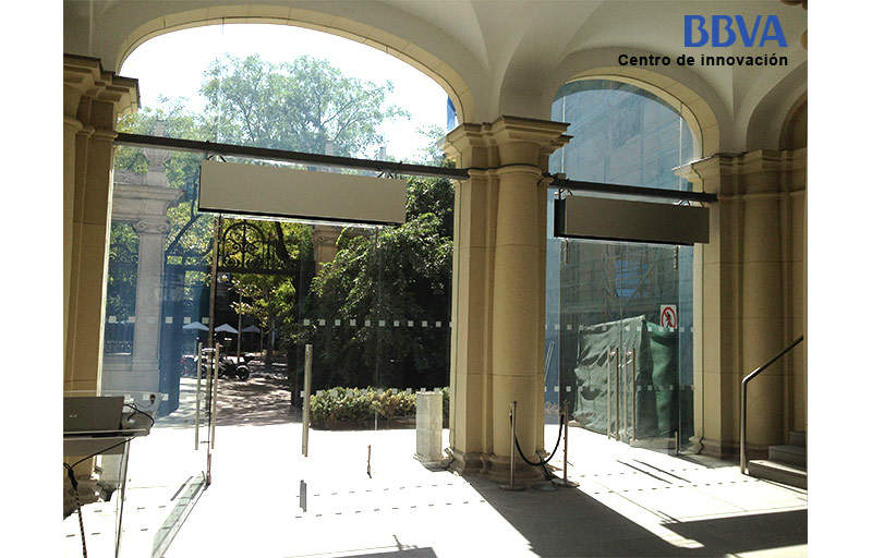 Instalaciones relevantes de cortinas de aire airt cnics durante el 2014 en espa a - Cortinas madrid centro ...
