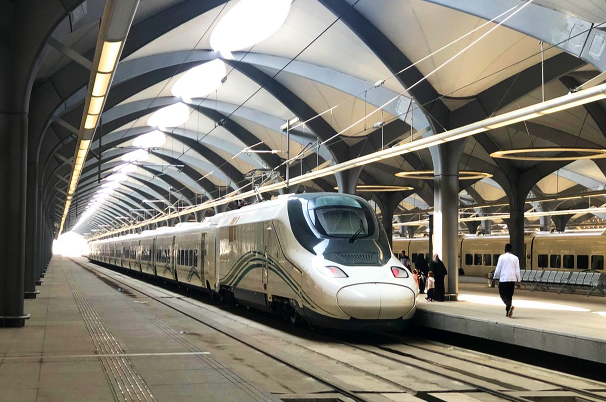 Airtecnics air curtains railway stations medina la mecca
