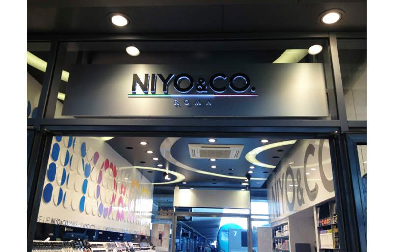 NIYO&CO retail chain of cosmetics - ZEN air curtain