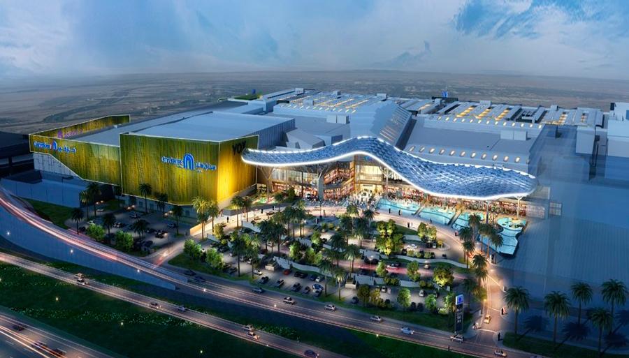 Al Zahiya city center prekybos centro lauko įranga