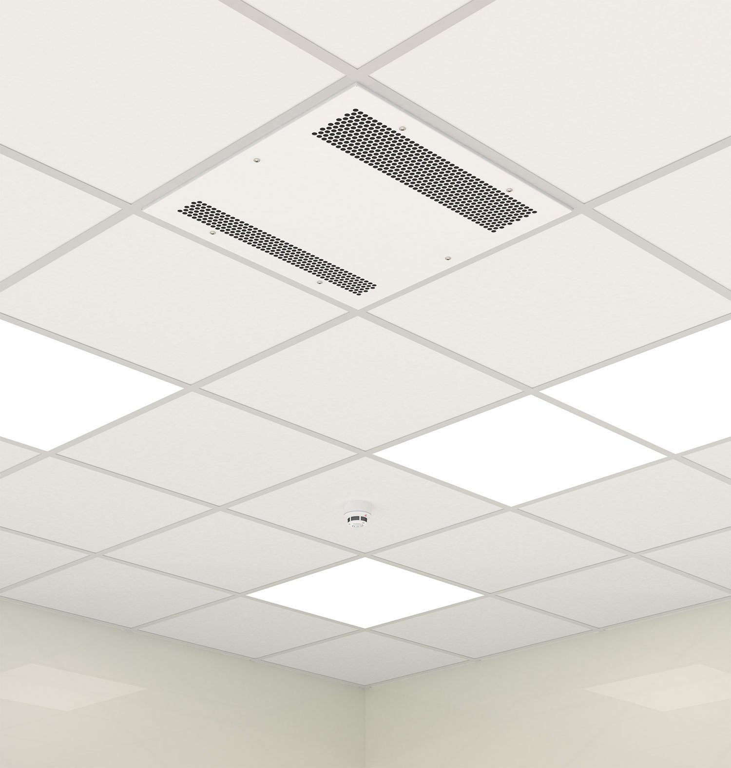 Instalation of cassette K7 in false ceiling