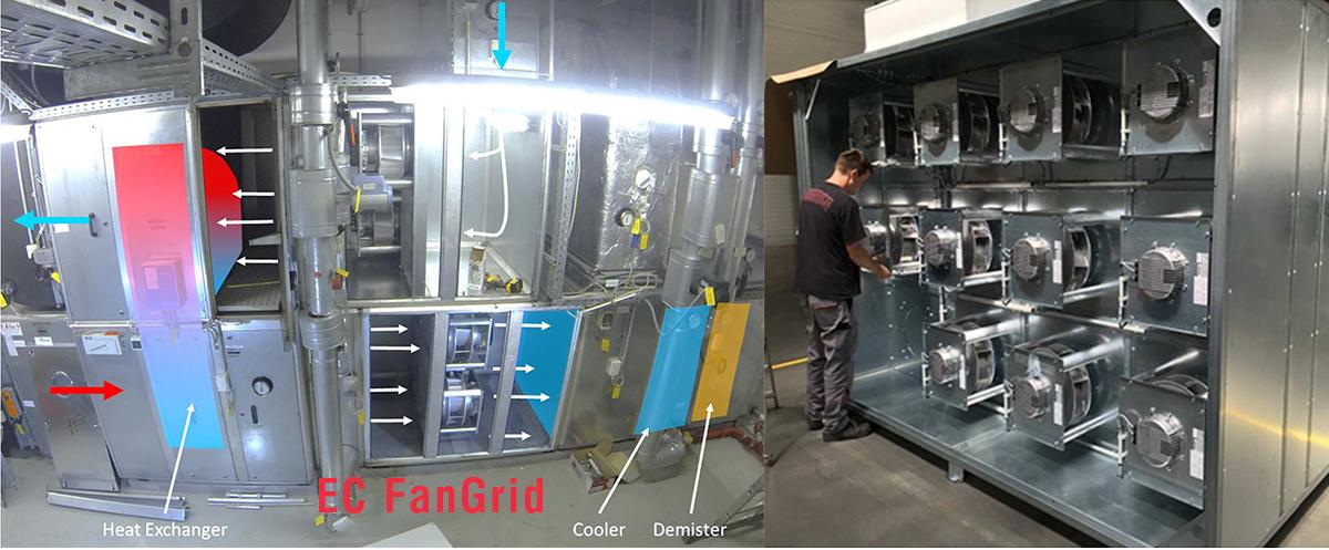 Ecfangrid Technological Breakthrough For Air Handling