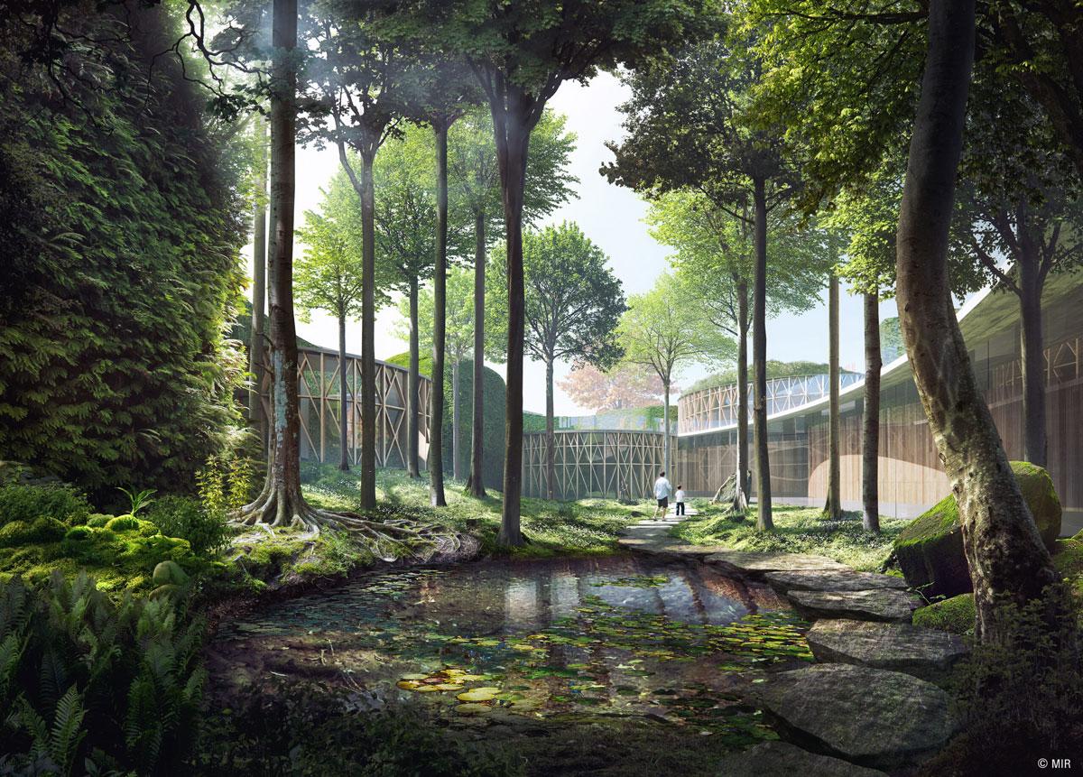 Gardens of the HC Andersen Museum