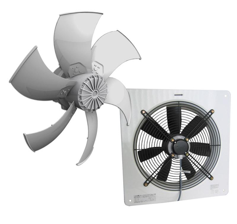 Вентиляторы с осевым потоком