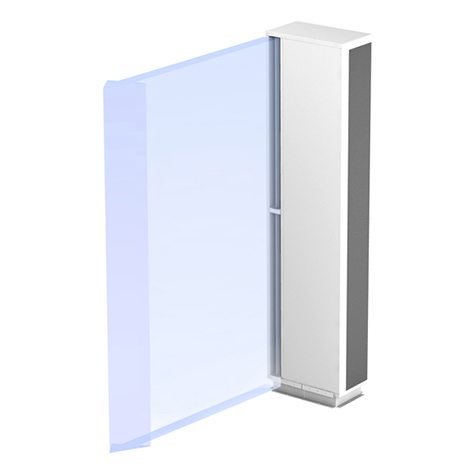 vertical air curtain
